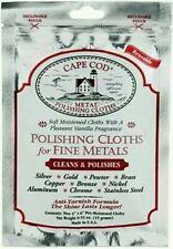 Cape Cod 8821 Metal Polishing Cloths Foil Pouch