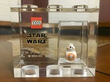 LEGO TT GAMES TROPHY STAR WARS BB8 SDCC RARER THAN MR GOLD VERY RARE!