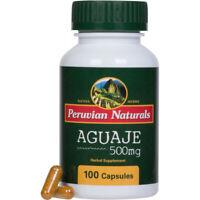 Aguaje 500mg - 100 Capsules | Peruvian Naturals