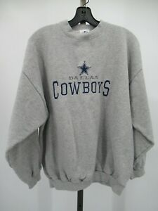H0089 VTG Dallas Cowboy NFL-Football Pull-Over Sweater Size XL