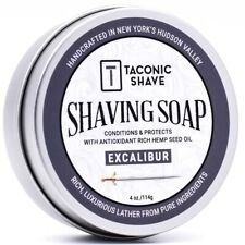 Taconic Shave Excalibur Soap Handcrafted Shaving Soap - Made in USA