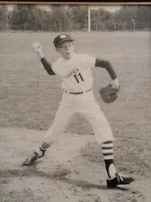 1963 Vintage E. Anaheim CA Little League Pitcher Photograph Photo Picture Braves