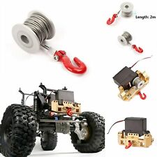 GAX0136A Upgrade Aluminum Built-in Accessory 25T Servo Winch Kit For RC Crawler
