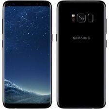 New Samsung Galaxy S8 Midnight Black SM-G950F LTE 64GB 4G Factory Unlocked UK