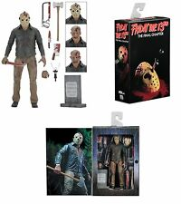 "Friday The 13th PART 4 Ultimate Jason Voorhees 7"" Figura 2017 NECA IN MAGAZZINO"