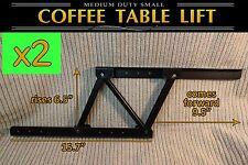 2x Lift Top Coffee Table Mechanism DIY Lift Up Furniture Hinge Spring F