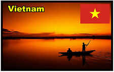 VIETNAM - SOUVENIR NOVELTY FRIDGE MAGNET - SIGHTS / FLAG / BRAND NEW / GIFTS