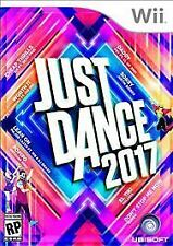 Just Dance 2017 (Wii 2016) EXCELLENT CONDITION SHIPS FAST COMPLETE