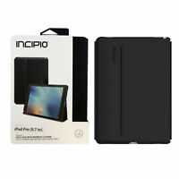 Case for iPad Pro 9.7 Incipio Faraday Leather Magnetic Folio Skin Cover Black