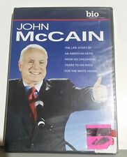 * Brand New sealed * JOHN MCCAIN Life Story DVD The Biography Channel