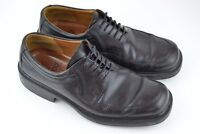 ECCO CITY Men's Black Leather Lace Up Oxford Shoes Size Eur 45 US 11 / 11.5