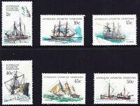 1981 AAT Australia Post - Design Set - Ships of the Antarctic - PART III - MNH