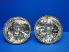 83-91 PORSCHE 944 N/A 951 TURBO S2 924S ORIGINAL HELLA H4 HEADLIGHT LENS PAIR