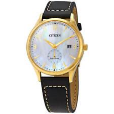Reloj para hombres Citizen BTW Eco oro amarillo de unidad caso Correa Negra BV1112-05A