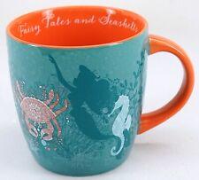 """New Disney Parks Little Mermaid Ariel """"Fairy Tales And Seashells"""" Fine Art Mug"""