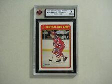 1990/91 O-PEE-CHEE NHL HOCKEY CARD #19R SERGEI FEDOROV ROOKIE KSA 8 NM/MT OPC