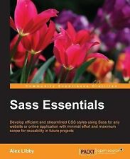 NEW Sass Essentials by Alex Libby