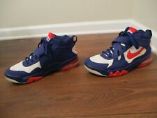 Used Worn Size 10 Nike Air Force Max CB 2 Hyperfuse Shoes Blue Red White
