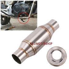 Motorcycle Dirt Pit Bike Stainless Exhaust Pipe Muffler Expansion Chamber 51mm