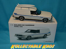1:18 Biante - Holden HX Sandman Panel Van - Cotillion White