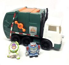 Fisher Price Imaginext TOY STORY Sunnydale dump truck & figurines jouet, rare objet!