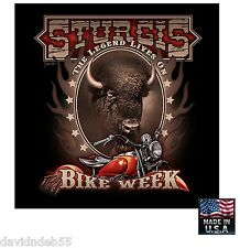 Sturgis BUFFALO BISON Bike Motorcycle Bandana BANDANNA Biker Head Skull Cap Wrap
