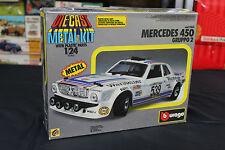 Kit 1/24 Burago Mercedes 450 gruppo 2 cod.5165 Die Cast metal kit