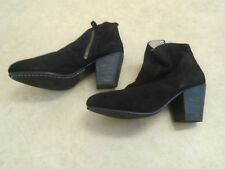 BODEN  BLACK SUEDE ZIP ANKLE BOOTS SIZE 36==SIZE 3