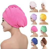 Quick Dry Large Microfiber Towel Magic Soft Hair Dry Hat Cap Quick Drying Towel