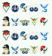 Pokemon Go Nail decals water decals Free shipping! Pokemon nail art!