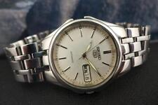 Classic Grey Dial 37mm Seiko 5 model 7S26A Stainless Steel Day/ Date Automatic