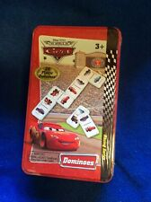 Disney Pixar Cars 2 Dominoes Tin Lightning McQueen Ages 3+ NEW SEALED