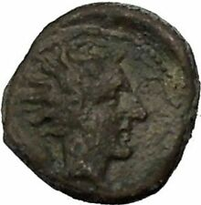 GELA in SICILY 420BC Bull River-god Gelas Rare RARE R2 Ancient Greek Coin i52416