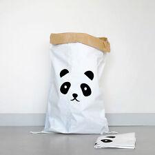 Kolor Papiersack Panda - Die nachhaltige Aufbewahrung mit Panda-Print