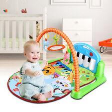 3 in1 Krabbeldecke Erlebnisdecke Spielbogen Spielmatte Babyspielzeug Piano
