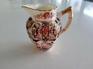 Antique jug (pre SHELLEY) WILEMAN ENGLAND in IMARI colours & Design Great Cond !