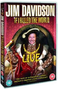 Jim Davidson: If I Ruled the World - Live DVD (2009) Jim Davidson cert 18