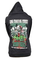Zombie Brain Eater Clown Top Hoody Hoodies S Warm Darkside