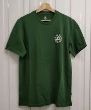 6dcf8d1294ac3b Mens Converse Golf Le Fleur Green Embroidered T-shirt UK Size Small