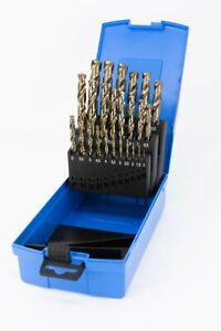 Presto 09501M25 1.0-13mm 0.5 increments HSCo 8% Cobalt Jobber Drill Set