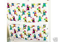 New Gooseberry Collection - Parrots - Nappy Stacker Cot Organizer - 60x60cm