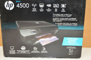 HP Envy 4500 Wireless All-in-One Inkjet Printer Factory Sealed - Free US Ship