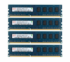 16G Hynix 4X 4GB DDR3 1333MHz 2RX8 PC3-10600U 240PIN DIMM Desktop Memory RAM LOT