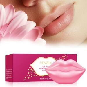 20x Lip Gel Crystal Collagen Moisture Essence Anti Wrinkle  Pads