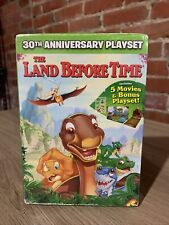 The Land Before Time: 30th Anniversary Playset (5-Movie Collection) New DVD!