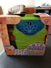Playtex Green Bubble Machine Bubble Maker Bath Baby Kids Toy Gift New 7 inch