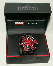 Marvel Comics Invicta 56mm Daredevil LE # 6/3000 Quartz Wristwatch Watch New Box