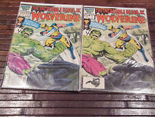 Incredible Hulk and Wolverine 1, Reprints 181 1st app of Wolv Direct & Newstand
