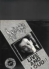 ANGELIC UPSTARTS - live and loud LP