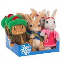 Peter Rabbit Characters Licensed Soft Animal Plush Toy 22cm **FREE DELIVERY**